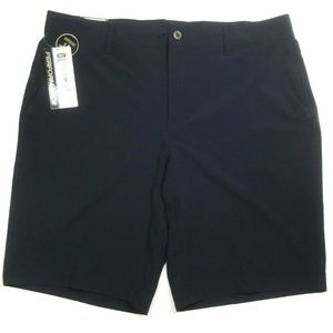 32 Degrees Cool Mens 38 Chino Stretch Shorts Blue